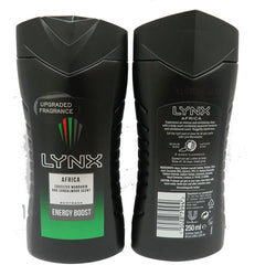 250ML LYNX AFRICA SHOWER GEL