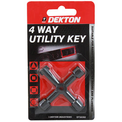 DEKTON 4 WAY MULTI KEY