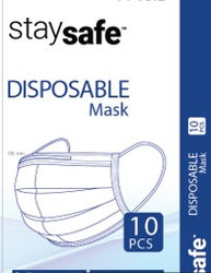 10 PACK DISPOSABLE MEDICAL MASKS