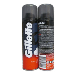 200ML REGULAR GILLETTE SHAVE FOAM