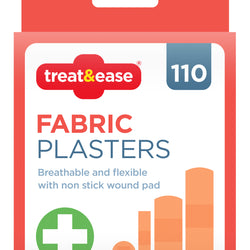 110 [PACK ASST. FABRIC PLASTERS