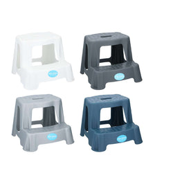 4 ASST. COLOURS 45KG STEP STOOL