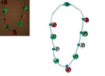 3 ASST. B/OP 9 BULB 3 FUNCTION XMASS NECKLACE