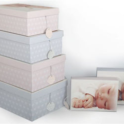SET OF 6 ASST.BABY GIFT BOXES