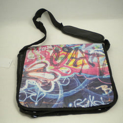GRAFFITI ART LAPTOP SATCHEL