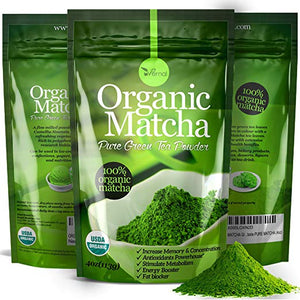 Organic Matcha Green Tea Powder *USDA Certified*
