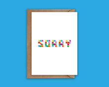 Load image into Gallery viewer, Sorry - Greeting Card