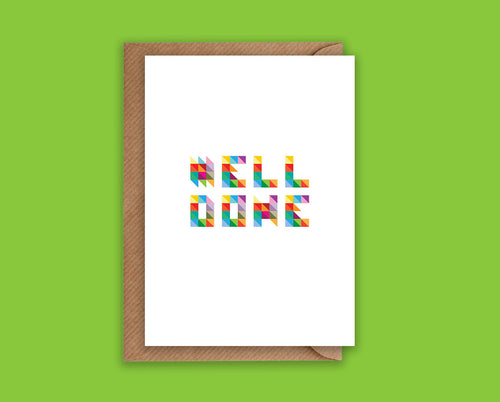 Well Done - Greeting Card