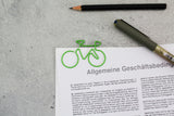 Fahrrad Büroklammern | Bicycle Clips