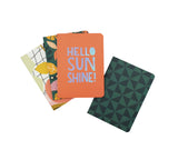Hello Summer - Sunshine Notizbuch | 4-er Set