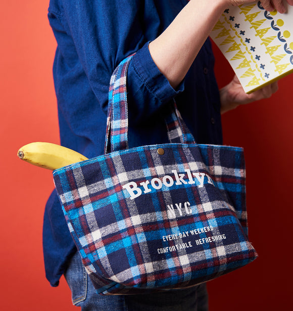 Lunchtasche Brooklyn - Blau | Rot