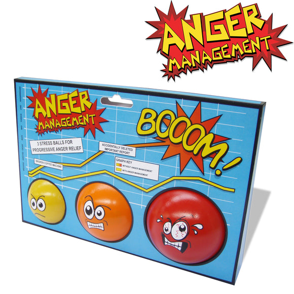 Stressball 3-er Set