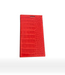 DUC HENRI - Folio iPhone Case Alligator