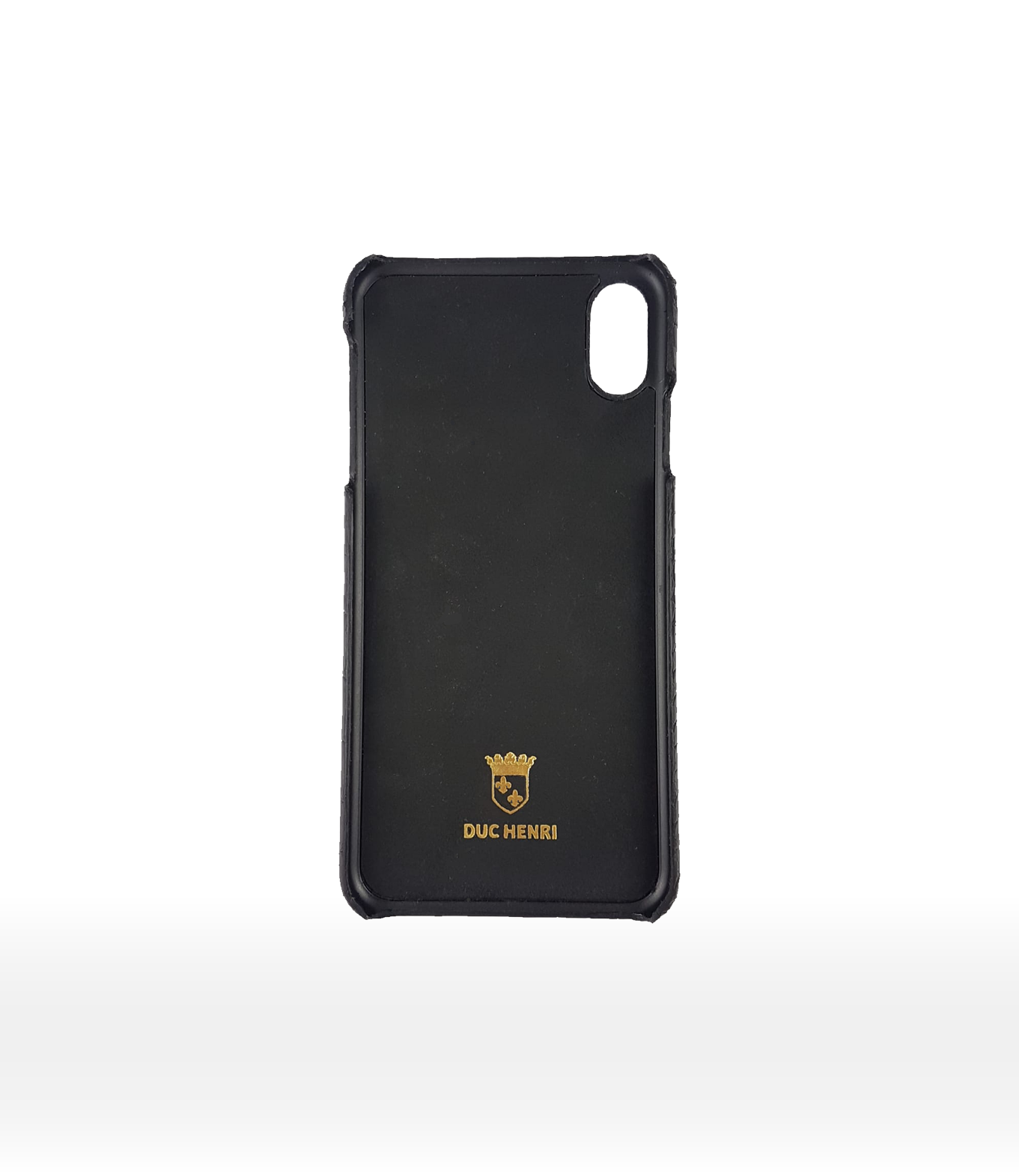 DUC HENRI - Calf iPhone Case Large Squall