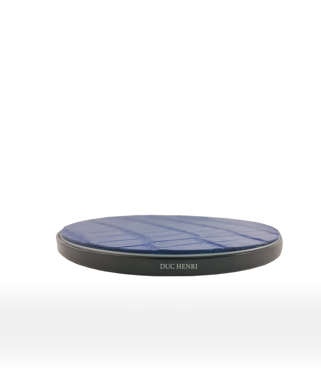 DUC HENRI - Alligator Black Wireless Charger