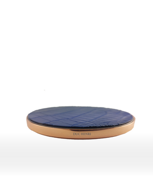 DUC HENRI - Alligator Pink Gold Wireless Charger