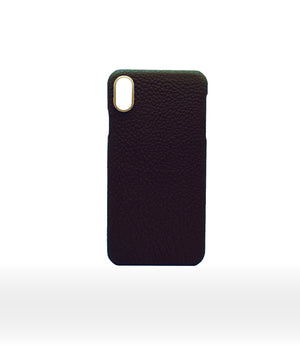 black leather calf iphone 11 max case handcrafted duc henri hadoro pars monaco coque iphone luxe luxury