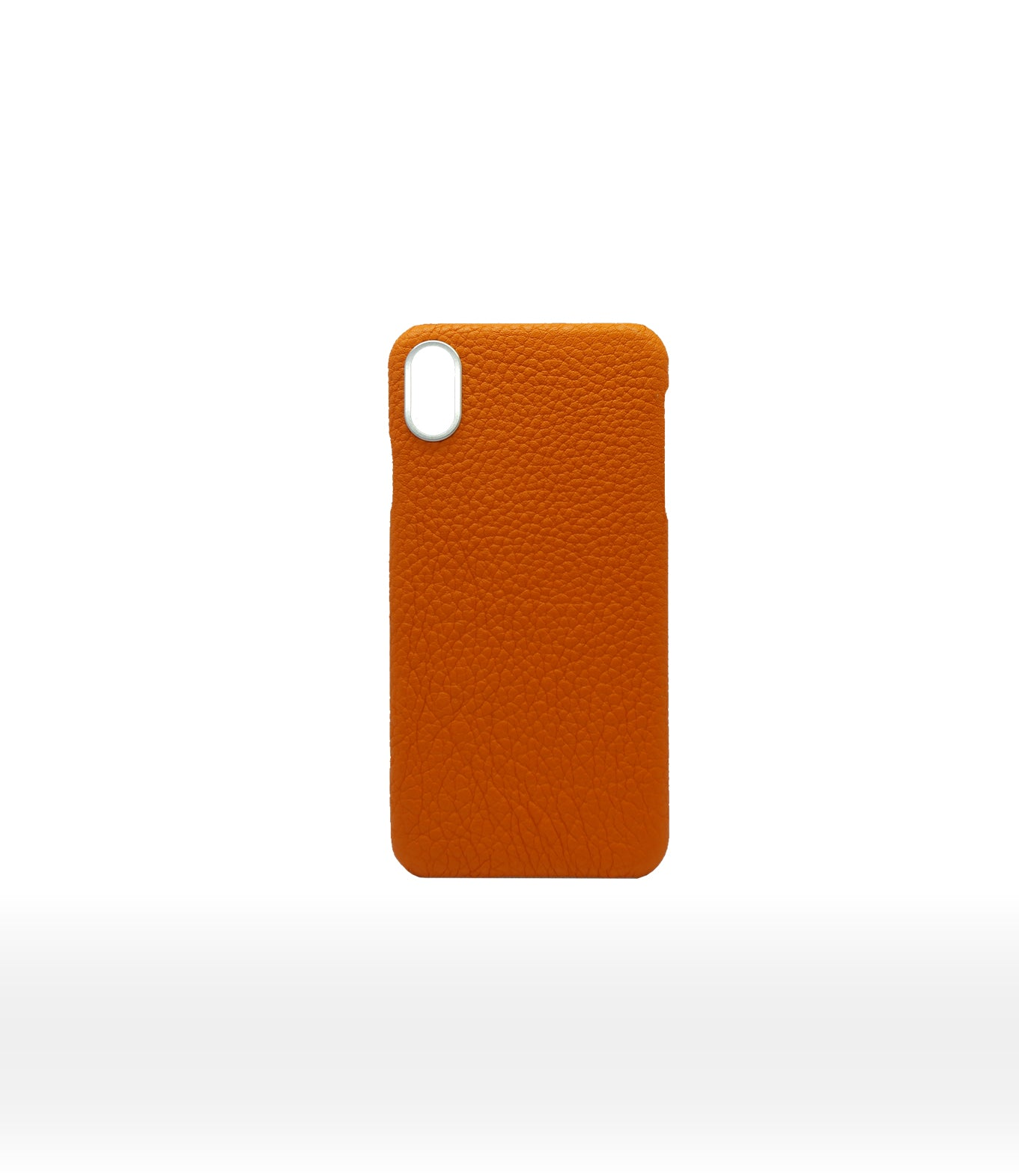 DUC HENRI - Orange Calf luxury iPhone Case Large Squall