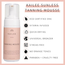 Load image into Gallery viewer, Kailee Sunless Tanning Mousse