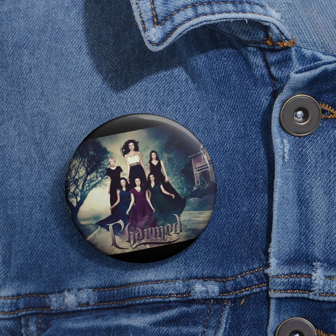 Charmed Pin Buttons
