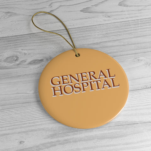 General Hospital Christmas Ceramic Ornaments