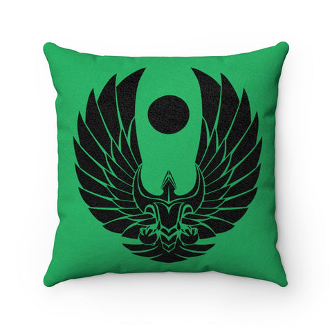 Romulan Star Empire Faux Suede Square Pillow
