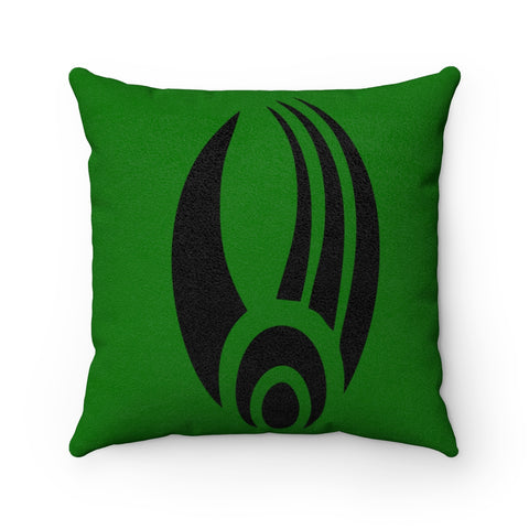 Borg Star Trek Faux Suede Square Pillow
