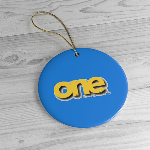 One Life To Live Christmas Ceramic Ornaments