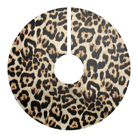 Animal Print Christmas Tree Skirt
