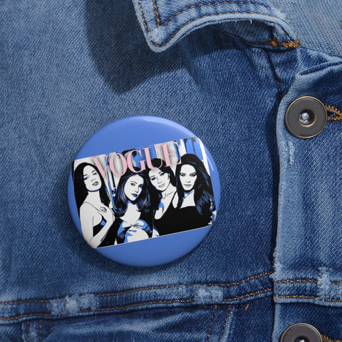 Charmed Vogue Pin Buttons