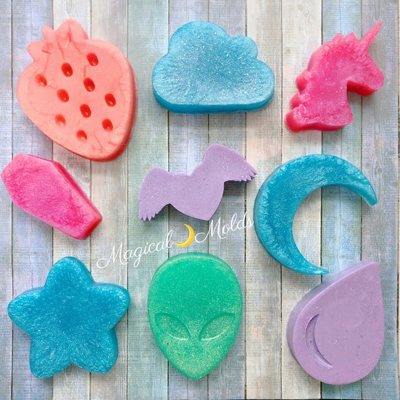 1pc Magic Animal Plastic Soap Making Mold Gift For Her For Him Mould