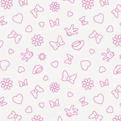 Minnie Icons (Hot Pink)