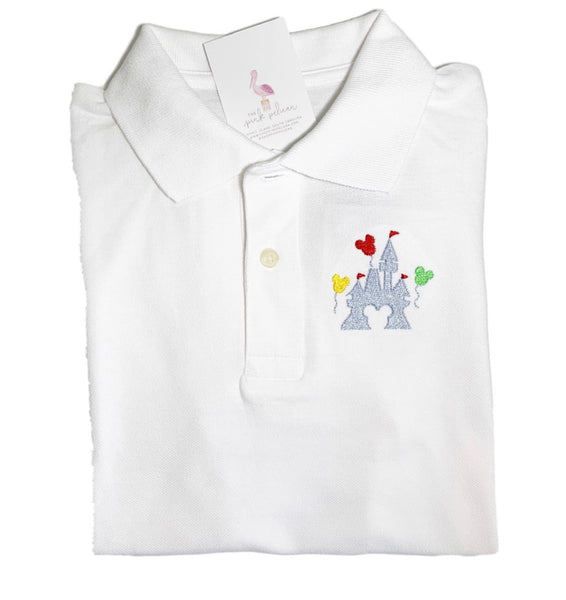 Boys Polo - with embroidery