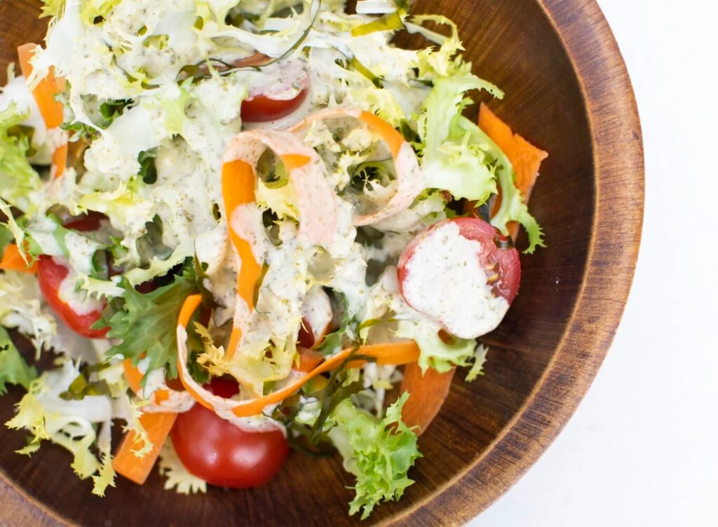 Kelp and Tahini Salad Dressing