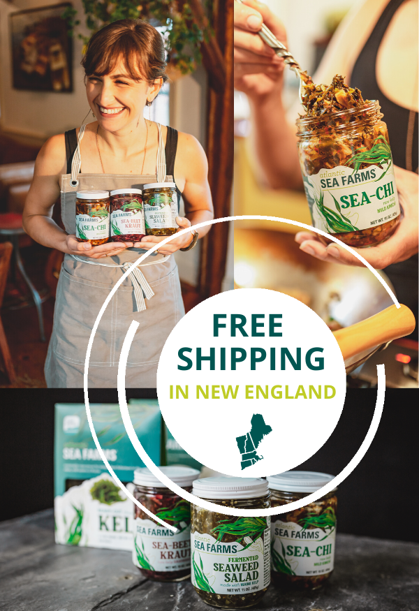 free shipping in new england through April!