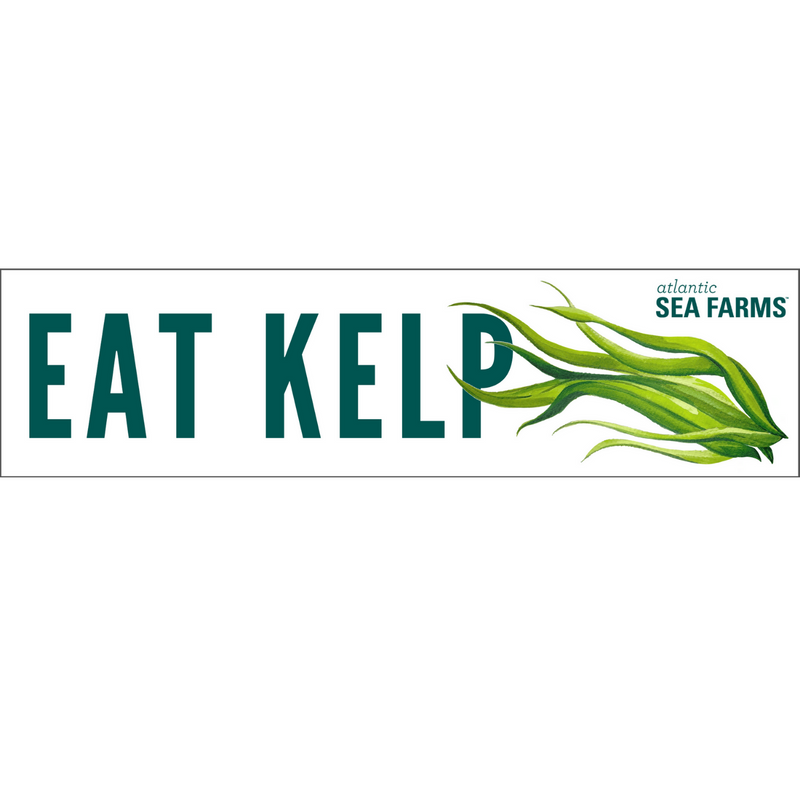 "Eat Kelp Bumper Sticker (11.5"" x 3"")"