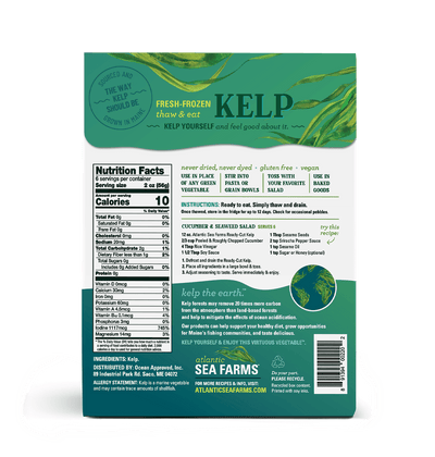 Ready Cut Kelp - 3 box pack (12 oz each)