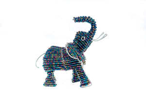 Genuine African Beadwork Elephant