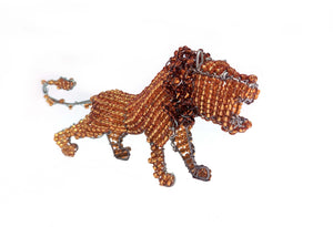 Genuine African Beadwork Lion