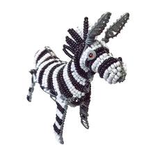 Load image into Gallery viewer, Genuine African Beadwork Zebra