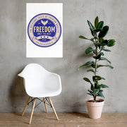Freedom IPA - White Poster