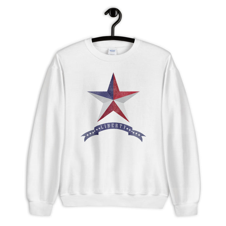 Liberty Star - Unisex Sweatshirt