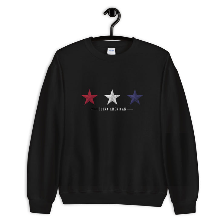 Red White & Blue Stars - Unisex Sweatshirt