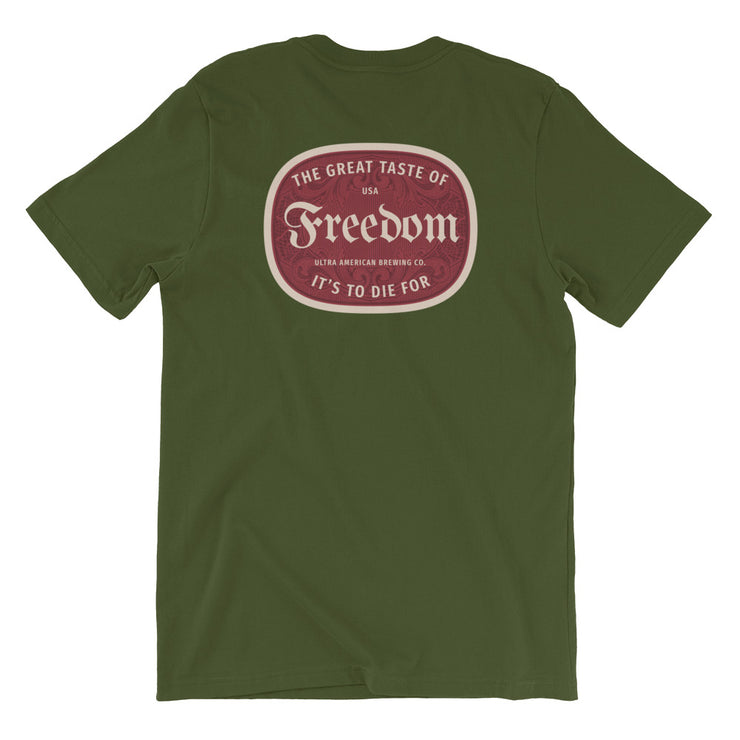 Freedom Lager - Back - Men's Tee