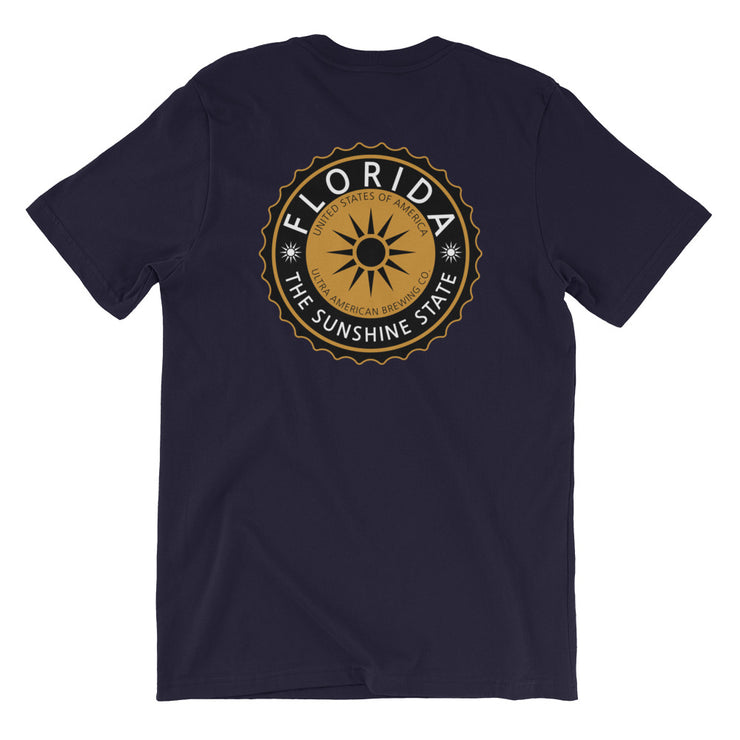 Florida Golden Ale - Back - Men's Tee