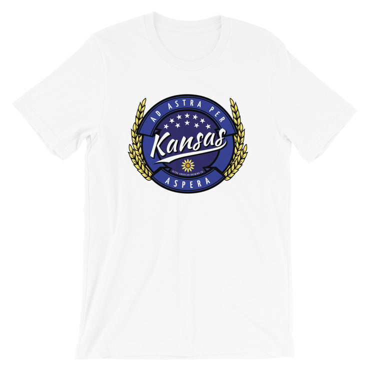 Kansas Wheat Beer - Front - Men's Tee