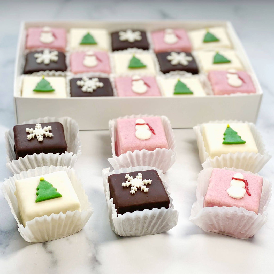 15 Pack Winter Tea Cakes