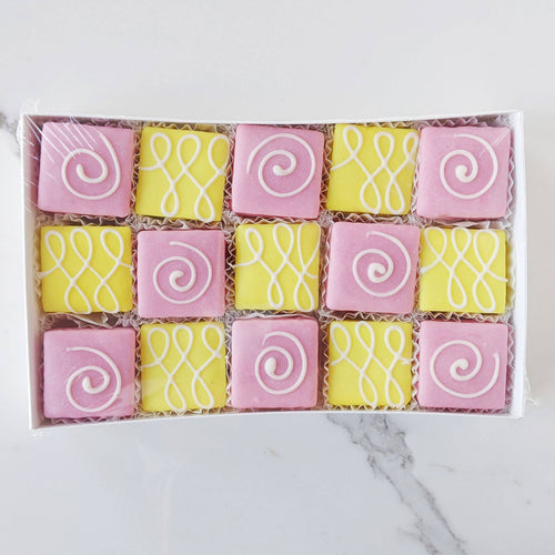 Lemon Raspberry Tea Cakes 15 Pack
