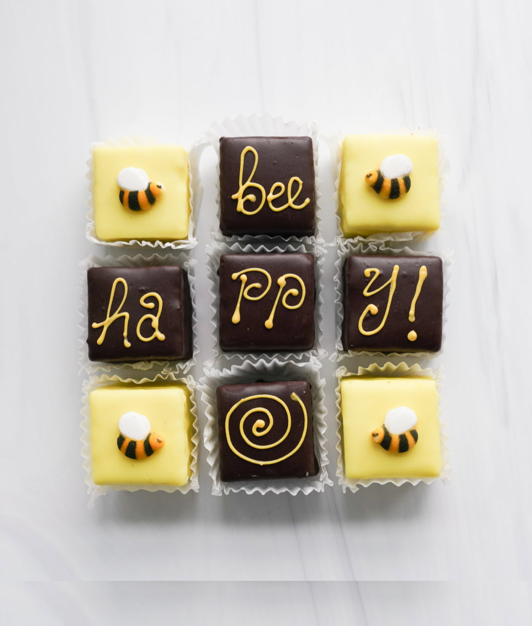 9 Pack Bee Happy Tea Cakes