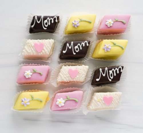 Mother's Day Petits Fours Cakes